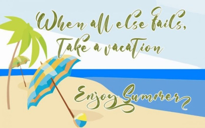 With Summer Brush Font