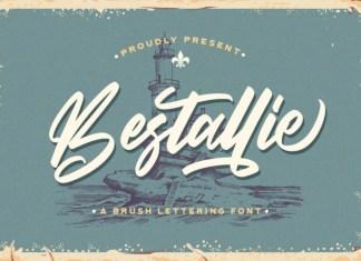 Bestallie Script Font
