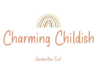 Charming Childish Handwritten Font