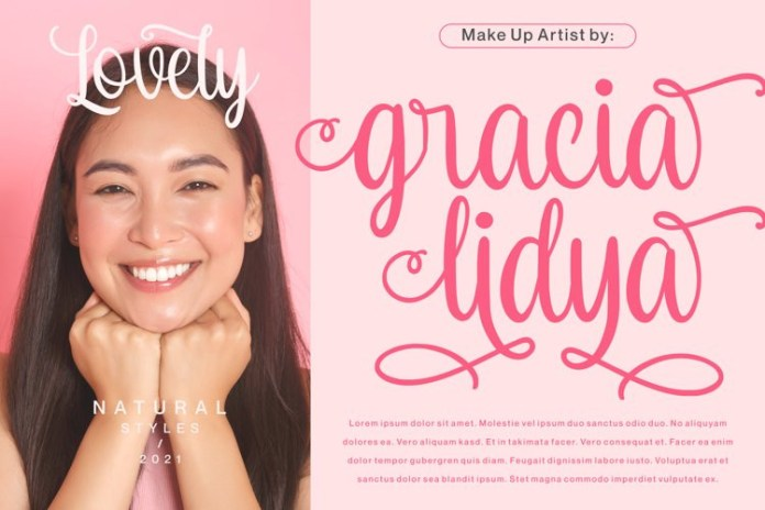 Goodness Cakes Calligraphy Font