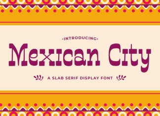 Mexican City Slab Serif Font