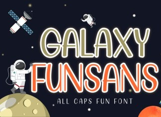 Galaxy Funsans Display Font