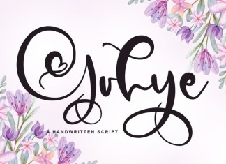Gohye Calligraphy Font