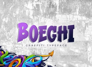 Boeghi Display Font