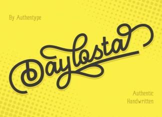 Daylosta Display Font