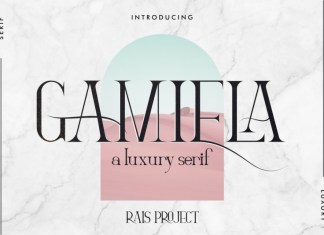 Gamiela Serif Font
