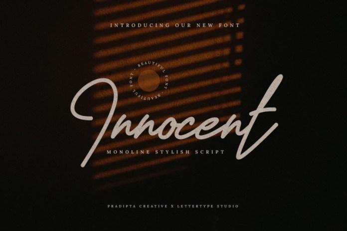 Innocent Handwritten Font