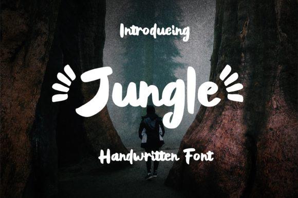Jungle Brush Font