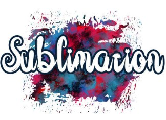 Sublimation Brush Font