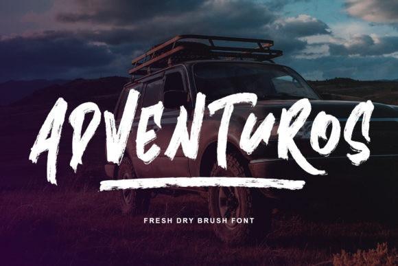 Adventuros Brush Font