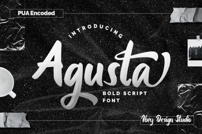 Agusta Script Font