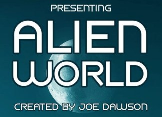 Alien World Sans Serif Font