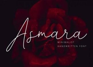 Asmara Handwritten Font