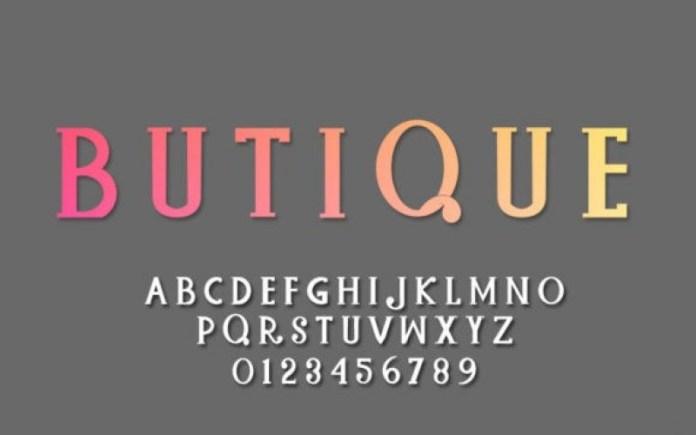 Baques Handtam Serif Font