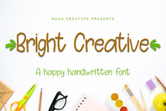 Bright Creative Display Font