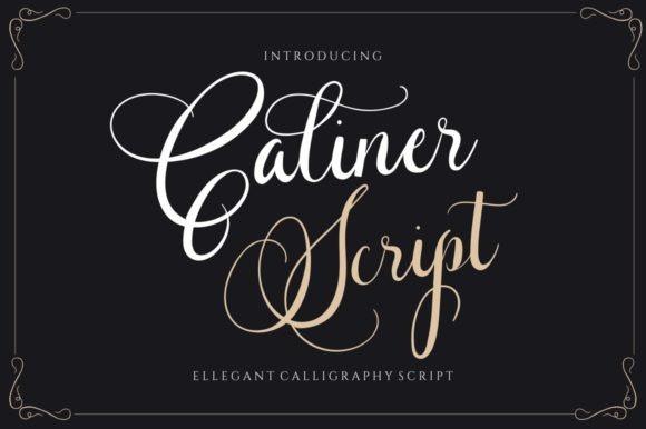 Caliner Calligraphy Font