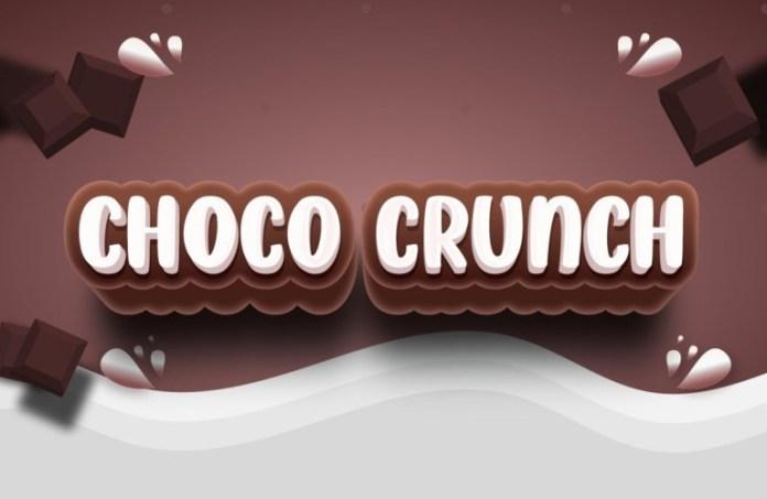 Choco Crunch Display Font