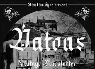Datons Blackletter Font