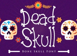 Dead Skull Display Font