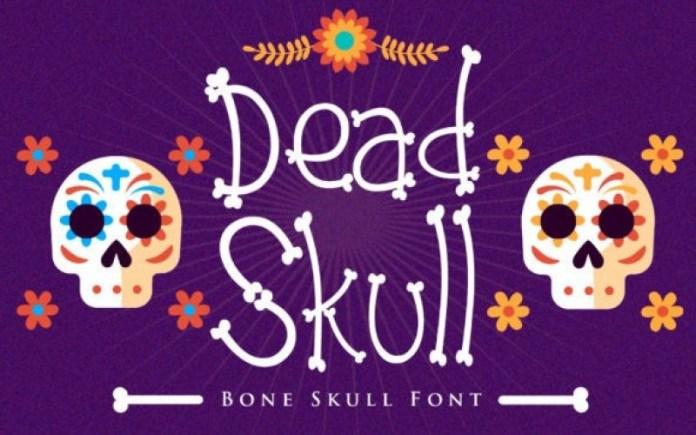 Dead Skull Display Font