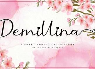 Demillina Script Font