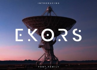 Ekors Display Font