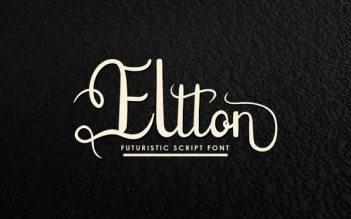 Eltton Script Font