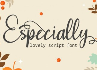 Especially Calligraphy Font