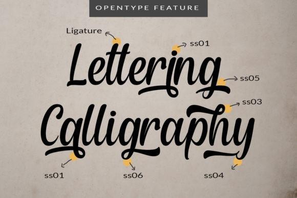 Fanday Script Font