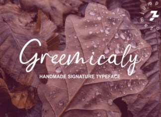 Greemicaly Script Font