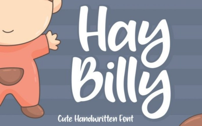 Hay Billy Display Font