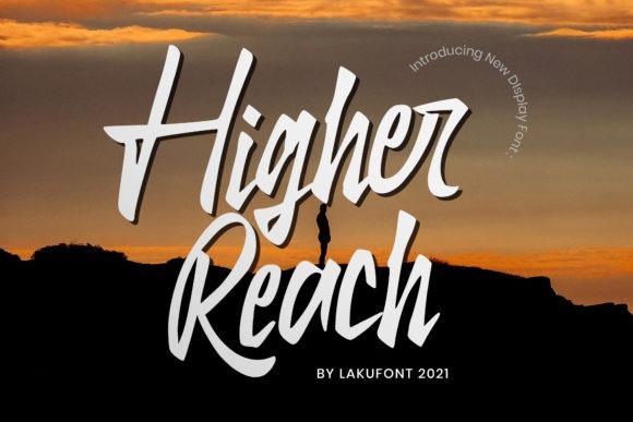 Higher Reach Script Font