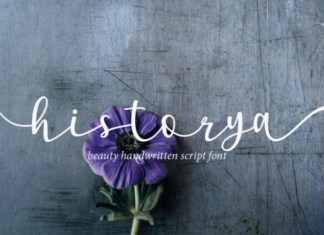Historya Calligraphy Font