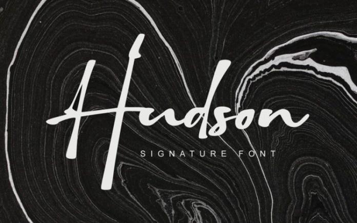 Hudson Script Font