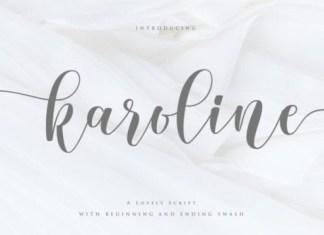 Karoline Calligraphy Font