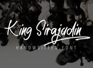 King Sirajudin Script Font