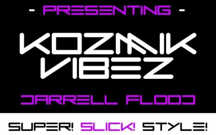 Kozmik Vibez Display Font