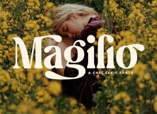 Magilio Serif Font