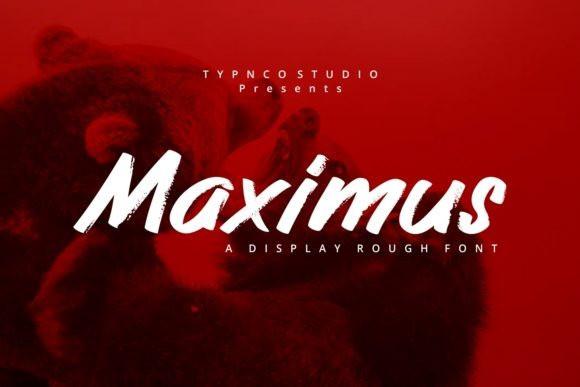 Maximus Brush Font