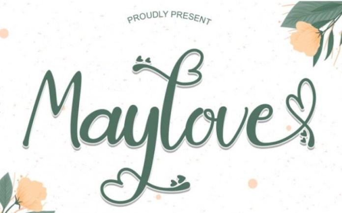 Maylove Script Font
