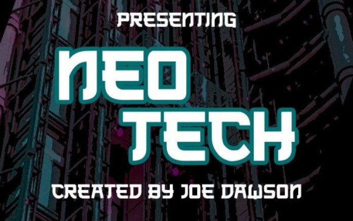 Neo Tech Display Font