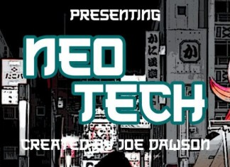 Neo Tech Display Font