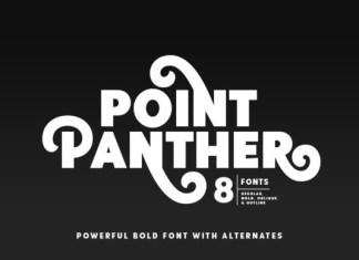 Point Panther Sans Serif Font