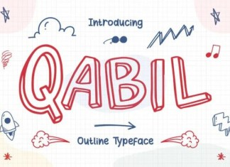 Qabil Display Font