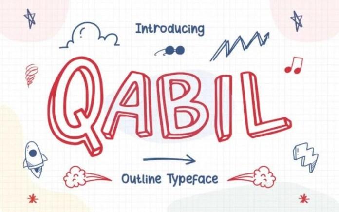 Qabil Display Font