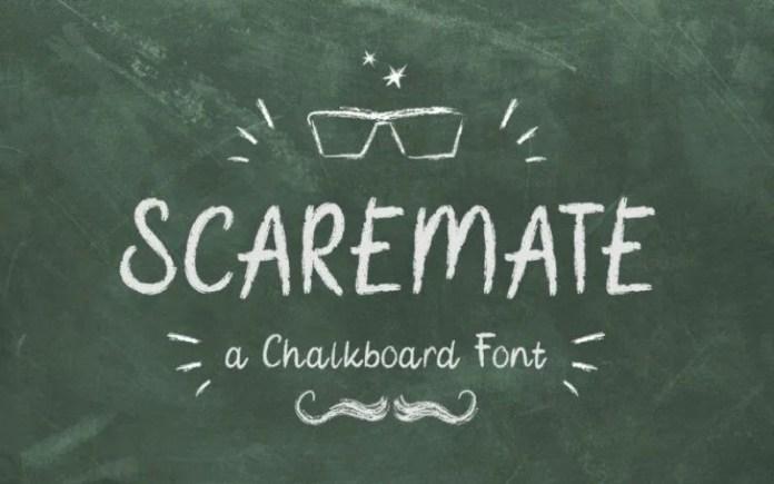 Scaremate Display Font