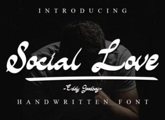 Social Love Script Font