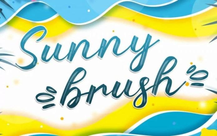 Sunny Brush Font