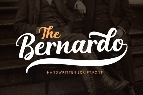 The Bernardo Script Font