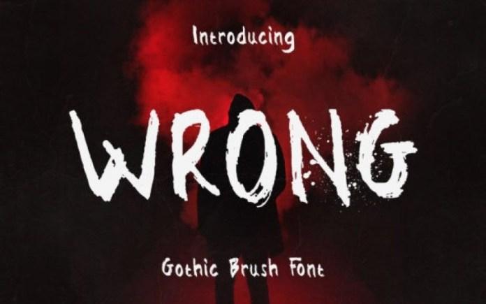 Wrong Display Font